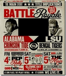 Bama LSU Battle Royale