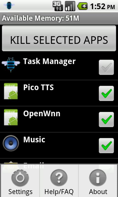 Task Manager - screenshot