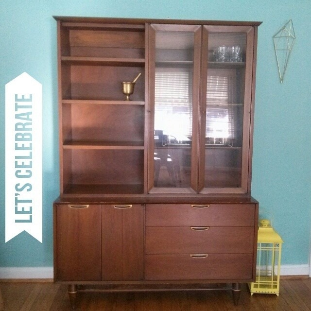 foremyloveof midcentury china cabinet
