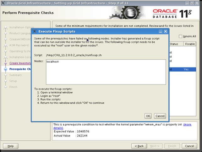 Oracle Knowledgebase: Install the software separately