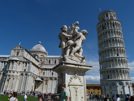 Obiective turistice Pisa: Catedrala si turnul inclinat