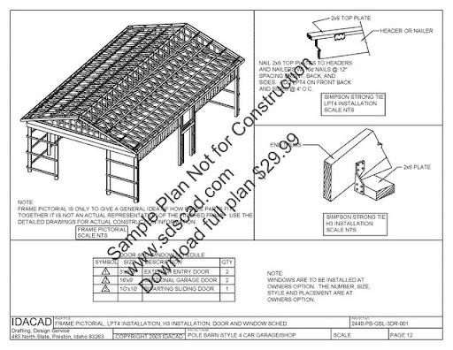6x3 Free Shed Plans 96937 Svaiperiny