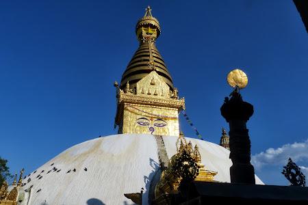 Obiective turistice Nepal: Templul maimutelor