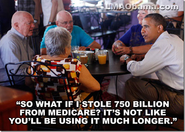 Obama 750 billion medicare