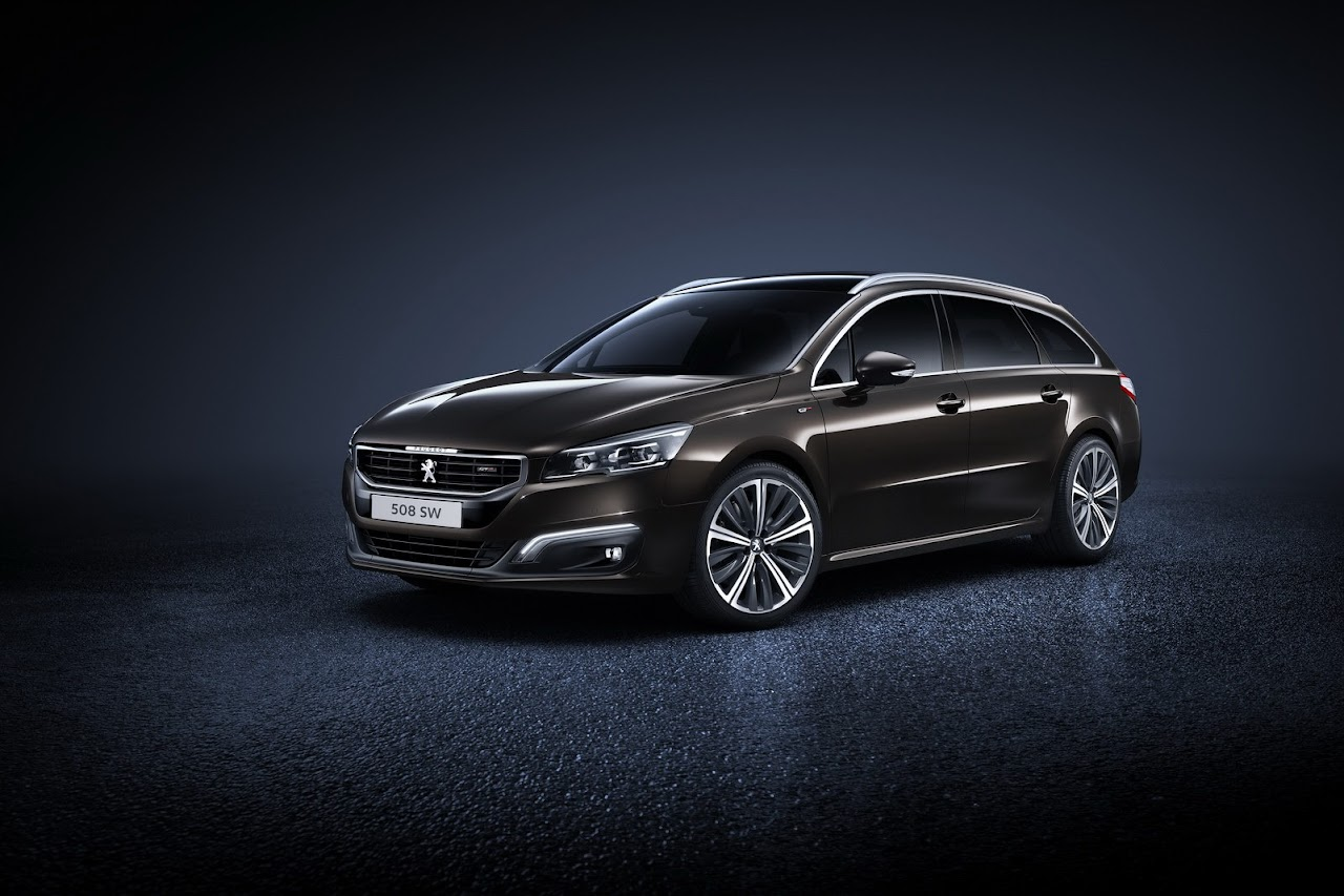 2015 peugeot 508 lineup facelift officially revealed turkeycarblog. Black Bedroom Furniture Sets. Home Design Ideas