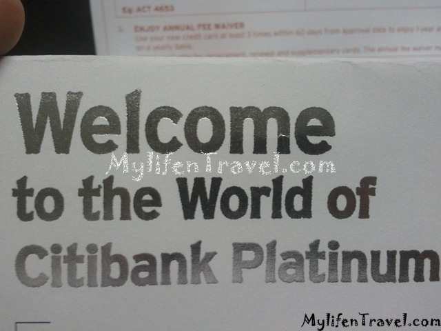 Citibank Platinum Credit Card 11