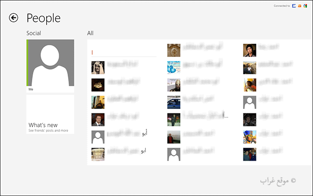 Windows 8 People