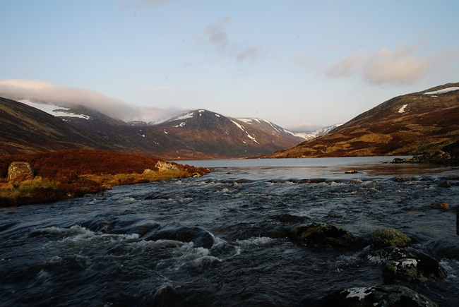 ANDY'S PIC: EVENING, LOCH CALLATER