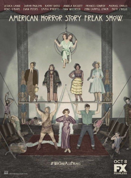 American Horror Story FreakShow- Cartel oficial