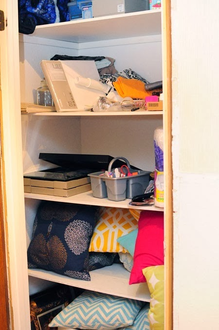 #RubbermaidAllAccess Hall Closet Makeover