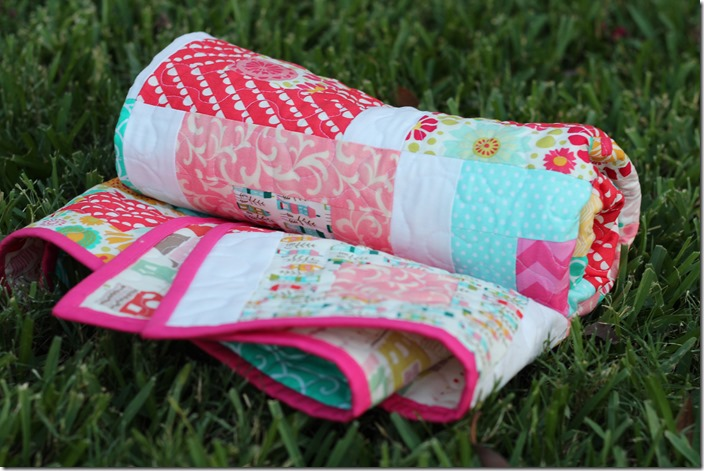 Tumble Quilt Roll by the Crafty Cupboard