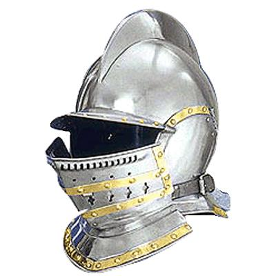 How to draw knights helmet