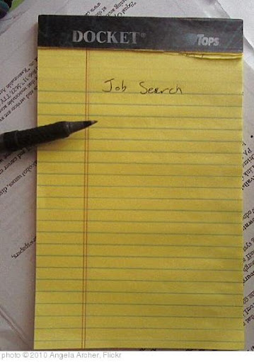 'job search legal pad.jpeg' photo (c) 2010, Angela Archer - license: https://creativecommons.org/licenses/by-nd/2.0/