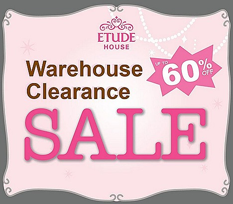 Etude House sale 2013 Korean cosmetics, skincare, makeup, fragrances, hair  bodycare Tanjong Pagar Exchange MRT Shinee Pink Party MBS