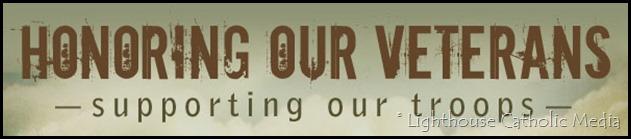 Lighthouse Catholic Media Memorial Day Banner