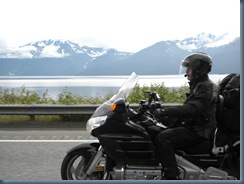 Heading south of Anchorage - Route 1 along Cook Inlet - July 27, 2010
