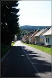 Straße nach Nové Hamry