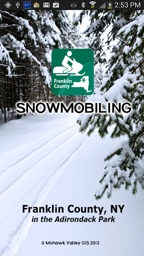 Snowmobiling Franklin County