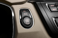 New BMW 3 Series: Start button (10/2011)