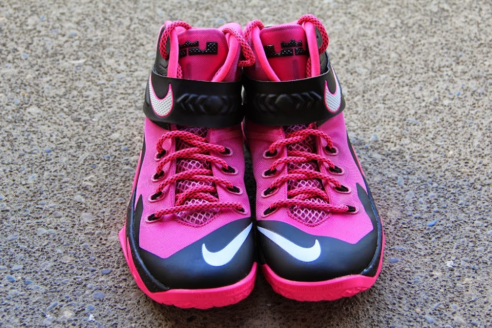 278a842b1b930 ... 8220Think Pink8221 Nike Zoom Soldier 8 Set to Release on September 20th  ...