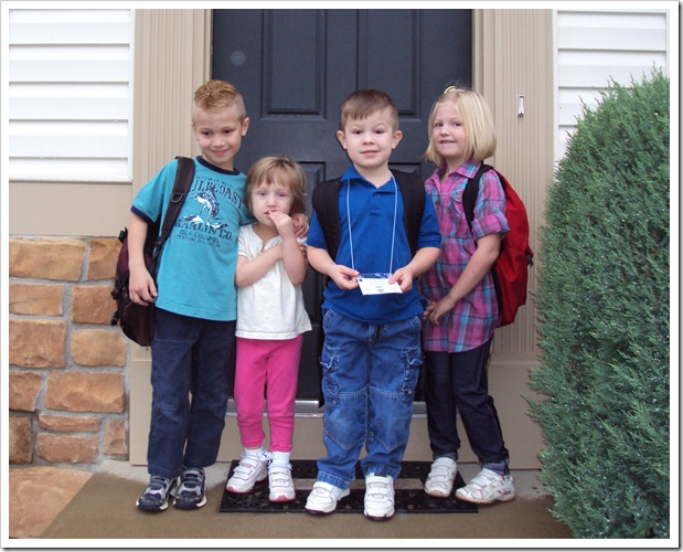 first day of school 9-6-2011