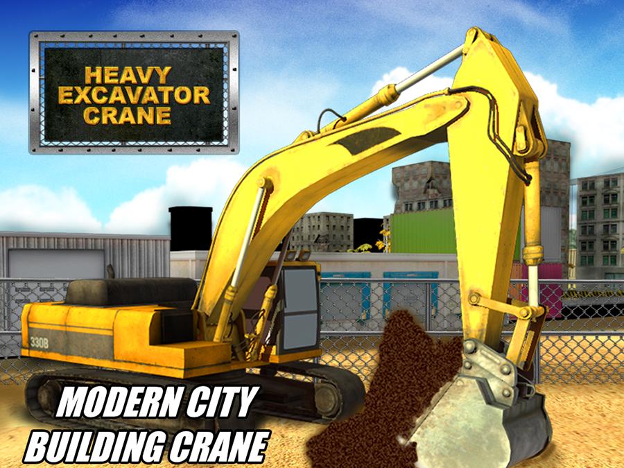 Heavy Excavator Crane Sim - Android Apps on Google Play