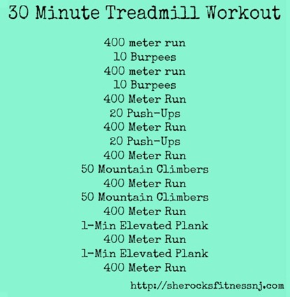 HARD treadmill workout