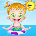 Baby Fun in Sand &Girl Games icon