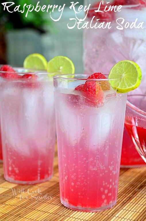 Raspberry-Key-Lime-Italian-Soda-1-willcookforsmiles.com_