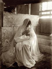 Gertrude Käsebier - The Manger - c 1901