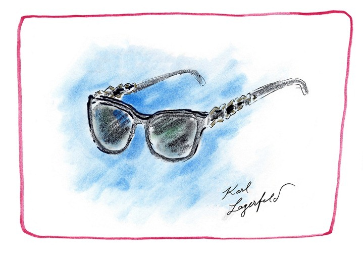 Eyewear_Collection Prestige_Sketch by Karl Lagerfeld