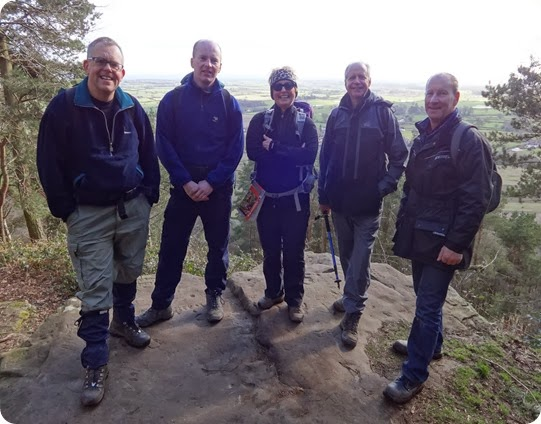 Cheshire Walking group – recent Sandstone Trail section walk