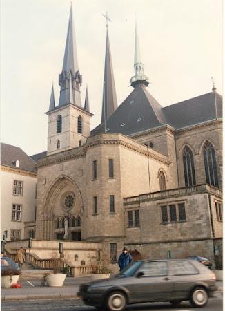 Imagini Luxemburg: Catedrala Luxemburg