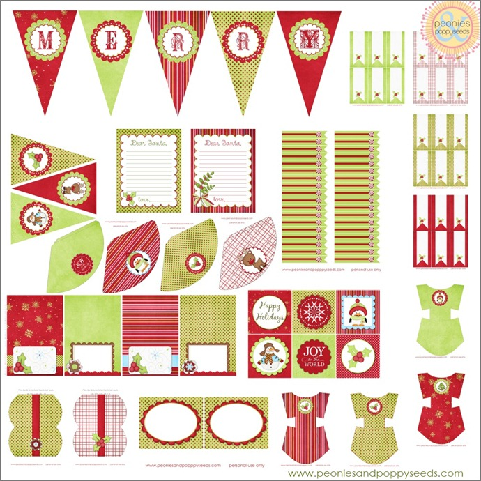christmas printables copy