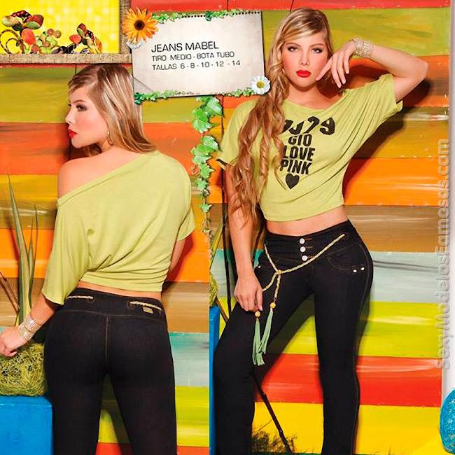 Angelica Jaramillo y Sofia Jaramillo Axxys Jeans Foto 28