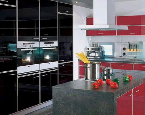 cocina-moderna-isla marmol Cocinas de diseño