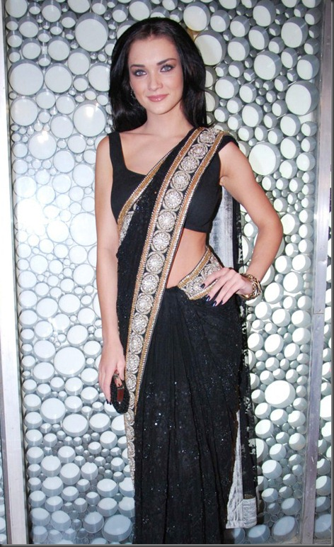amy-jackson-NEW HOT PIC_in saree