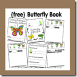 hatching Butterflies for 1st Grade Science with free observation book