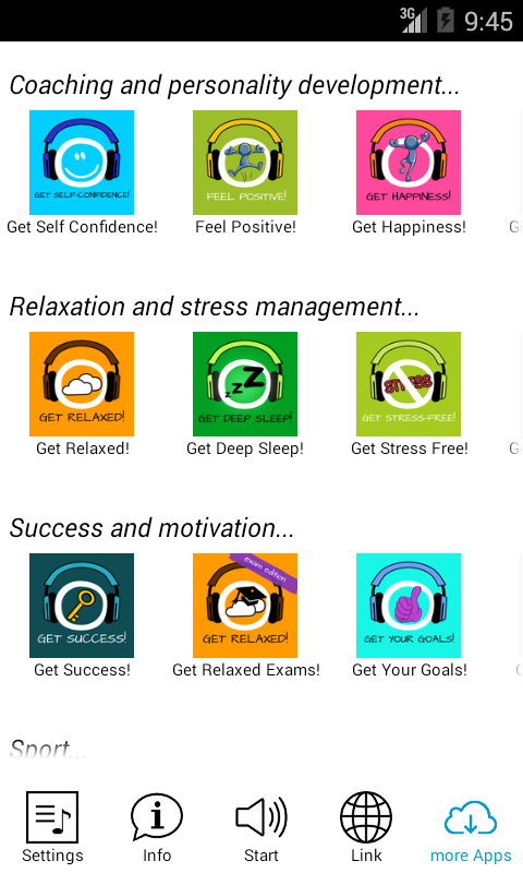 Get a Powernap! Hypnosis- screenshot