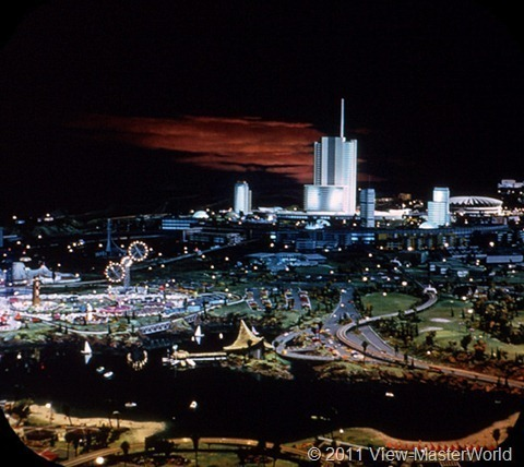 View-Master Tomorrowland (A179), Scene 3-7: Progress City