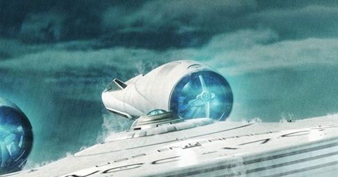 Star Trek Into Darkness Enterprise Underwater
