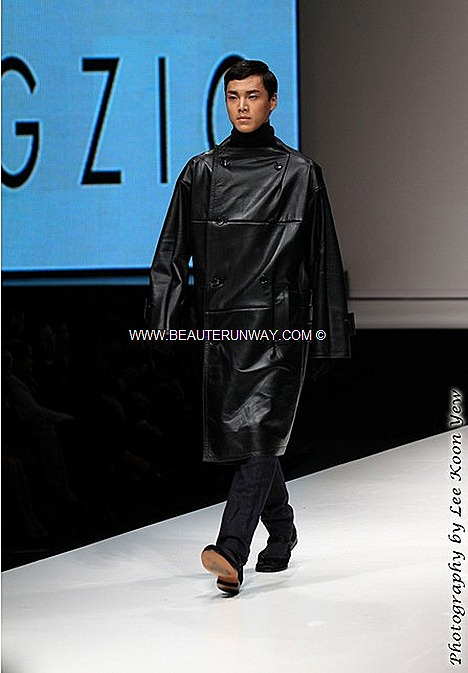 MENS FASHION WEEK SONGZIO FALL WINTER 2012 KOREAN DESIGNERS jacket shirt CELEBRITIES MARINA BAY SANDS SINGAPORE SE7EN K-POP J