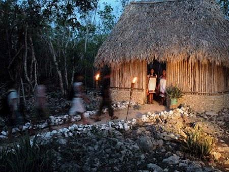 Imagini Mexic: Coliba Maya