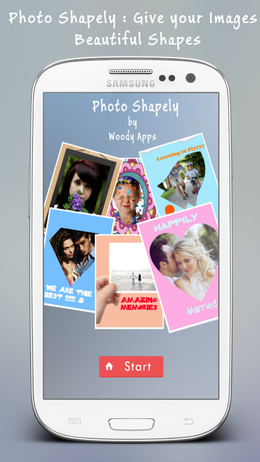 Photo Shapely - screenshot