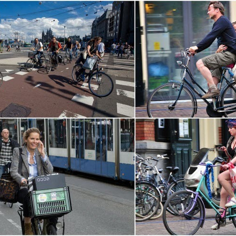 Amsterdam, the City of Bicycles
