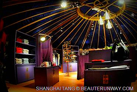 SHANGHAI TANG  limited edition Mongolian Collection and signature Shanghai Tang