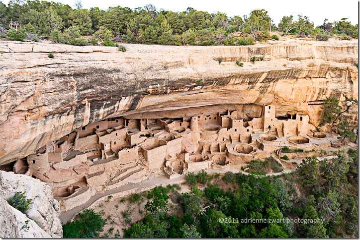 Cliff Palace at Mesa Verde National Park - photo by Adrienne Zwart