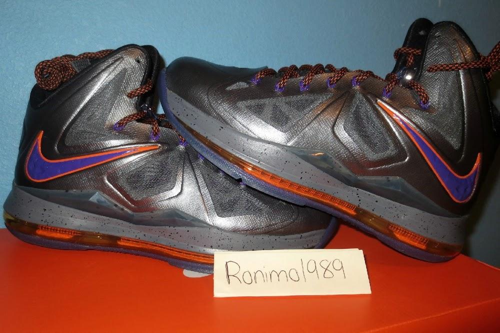 f8f3e68e706 Diana Taurasi8217s Nike LeBron X Phoenix Mercury Away PE ...