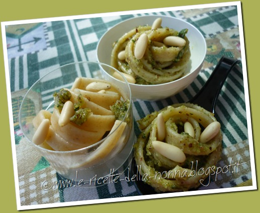 Antipasto finger food con pasta integrale, pesto e patate (17)