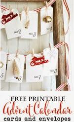 Ella Claire Inspired - Advent Calendar Envelopes2